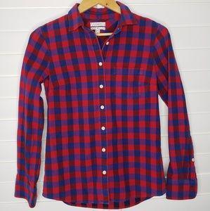 "J.Crew ""Boy""  Shirt Button Down Top"